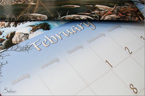 Különleges naptár készítés kedvesed számára